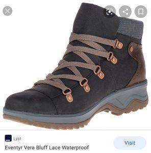 Women's Merrill leather boots waterproof